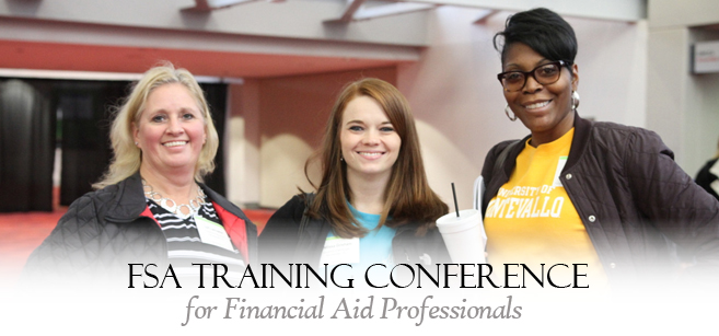 FSA Financial Aid Training Conference attendees